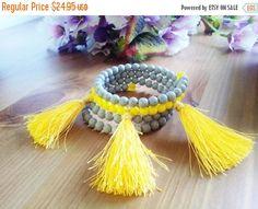 Womens Beach Bracelet ~ Tribal Jewelry For Women ~ Summer 2017 Gift For Sister ~ Beaded Boho Summer Wrap Bracelet ~ Gifts Under 30 Dollars by BlueWorldTreasures on Etsy
