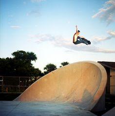 """tim johnson - frontside grab"" SkateInfusion"