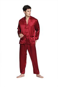 Men Silk Pajamas