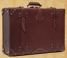 I'd buy a ticket to anywhere just so I can carry this awesome looking suitcase with me
