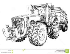 Les 7 Meilleures Images De Coloriage Tracteur Coloriage Tracteur