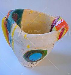 Pudding basin jug 2006 by Linda Styles