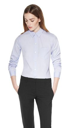 Women's Shirt - Perfect Sartorial Shirt - Theory.com