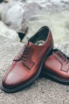 Established in 1954, we pride ourselves on our heritage. Our exclusive handcrafted Robinson footwear brand reflects the quality, expertise and passion we have built over the past 66 years.  Featured: Robinson Chester A. Arthur in oxblood grain.  #robinsonsshoes #mensfootwear Oxblood, Shoe Brands, About Uk, Footwear, Shoes, Zapatos, Shoe, Shoes Outlet