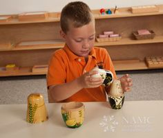 Article about nesting dolls' multipurpose usefulness in a Montessori classroom