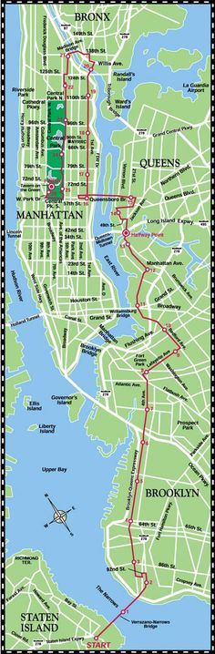 The Five Boroughs, Staten Island, Brooklyn, Queens, Bronx and Manhattan.  Hopefully I will be running this 11/02/2014 #NYCMarathon