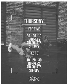 Need a no-equipment workout? Hiit Workout Routine, Wod Workout, Travel Workout, Fitness Workouts, Full Body Workout Plan, Crossfit Workouts At Home, Kettlebell, Workout Programs, Fitness Inspiration