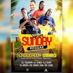 #embakasi #at254 #nairobi #sunday #entertainment #live #super #guys #bosslady #diva #divas #happy #food #kenya #tag2post #bestdj #ciroc #shots #beer #reggae