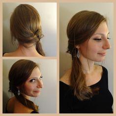 Semi fishtail braid + soft waves - Mathilde Wurtz