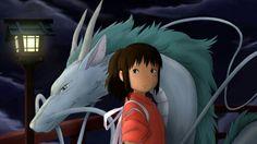 Haku,Nigihayami Kohakunushi & Sen,Chihiro Ogino - Spirited Away,Studio Ghibli Hayao Miyazaki, Miyazaki Spirited Away, Films Étrangers, Anime Films, Spirited Away Wallpaper, Film Animation Japonais, Films For Children, Manga Anime, Studio Ghibli Characters