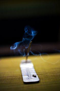 Incense smoke by deathtiny42
