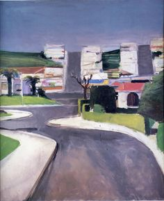 Richard Diebenkorn The Grand Rapids Art Museum has this piece...it is one of my all time favorites!