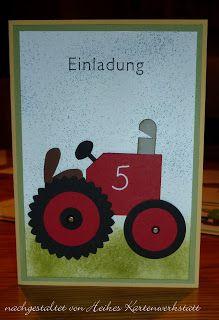 Traktor-Karte