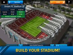 Dream League Soccer 2019 Screenshot Football Video Games, Soccer Games, Play Soccer, Android Features, Play Hacks, Capacity Building, Association Football, Games To Play, Pc Games