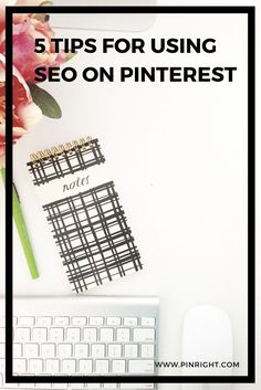 5 Tips for using SEO in Pinterest to Gain Followers and Targeted Traffic to your Website - Pinterest Training and Tips - Pinright *** Discover even more by going to the photo