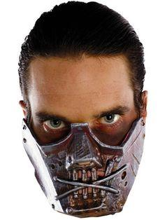 Insane Asylum Crazy Hannibal Lecter Cannibal Halloween Costume Mask |