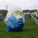 New Public Geometric Sculptures by David Mesguich