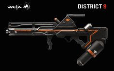 Weapon concept by Weta Workshop for District 9.
