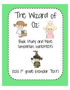 Yellow Brick Road Sequence Activity #Wizard of Oz #teach #ece ...