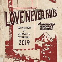 LOVE NEVER FAILS (VINTAGE WT) by JenielsonDesign Pioneer School Gifts, Pioneer Gifts, Jw Gifts, Craft Gifts, Jw Convention, Love Never Fails, Sticker Design, Arts And Crafts, Fun Crafts