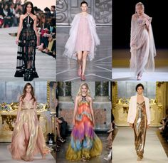 Day 4 of Milan Fashion Week, and the gowns got even more extravagant!