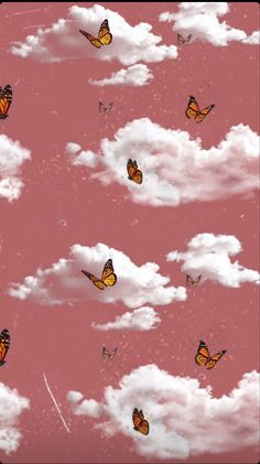 Butterfly Wallpaper Iphone, Dark Wallpaper Iphone, Cartoon Wallpaper Iphone, Iphone Wallpaper Tumblr Aesthetic, Homescreen Wallpaper, Cute Emoji Wallpaper, Cute Patterns Wallpaper, Iphone Background Wallpaper, Retro Wallpaper