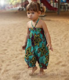Adorable toddler girls romper jumpsuit outfits overalls size by VividDress, $17.00