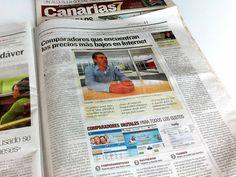 ComparaDentistas en el Canarias 7