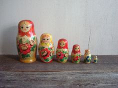 start a collection of nesting dolls ~ so in love with them
