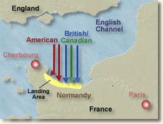 D-Day, Normandy, 1944  World War 2