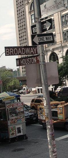 Soho - BTW the street name is NOT Houston, like Houston Texas..ok?!