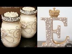 """DIY ROOM DECOR! 38 Easy Crafts Ideas """"Decorative glass bottles"""" for Teenagers - YouTube"""