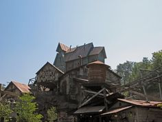 Dollywood:  Mystery Mine Coaster. Love this ride!!!!  Watch out for the red eyes!!!