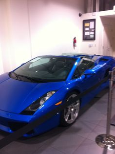 Lambo in my second favorite color!