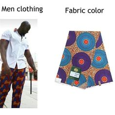 Shenbolen 2018 african clothing Couples dress ankara style wax print women sets men tops + pants 2 Pieces fashion clothes Special Use: Traditional Clothing Item Type: Africa Clothing Gender: Men Material: Cotton Type: Couples dress Ankara Designs, Ankara Styles, Traditional Fabric, Traditional Outfits, Printed Pants, Clothing Items, Fashion Outfits, Fashion Clothes, Cloths