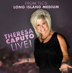 Theresa Caputo of Long Island Medium joins us at the Taft on April 23! Tickets go on sale this Friday at 10am!