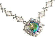 Hey, I found this really awesome Etsy listing at https://www.etsy.com/uk/listing/263042894/rainbow-crystal-necklace-swarovski