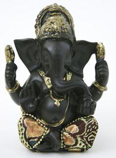 Ganesha<br />zittend in ruststand bij Crystal Temptation in Venlo