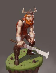 The Viking, Raman Djafari on ArtStation at http://www.artstation.com/artwork/the-viking-d16c6e6c-7698-4c78-9855-f0adbca3cfb8 ★ Find more at http://www.pinterest.com/competing/