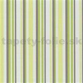 Tapety na stenu Confetti - pruhy zelené