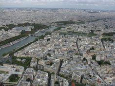 Paris from the top of the Eiffel tower Paris Wallpaper, Cool Wallpaper, Tour Eiffel, Stunning View, One In A Million, Paris Skyline, City Photo, Tours, Places