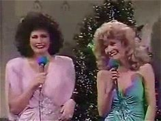 The Sweeney Sisters -- one of my favorite all-time SNL skits.. Sweeney Sister's Christmas party!  I don't know about a ding, but how about a wing?!