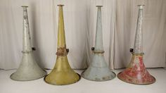 Shipping horns at Woodstock Antiques   courtesy of Woodstock Antiques