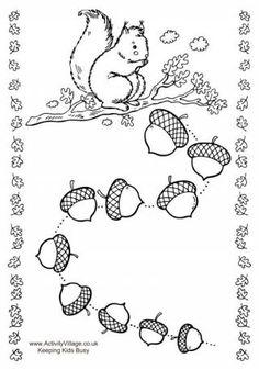 Printable Squirrel Reward Chart.  Several more including advent reward charts.