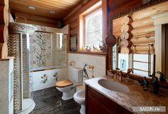 Slavic style bathroom