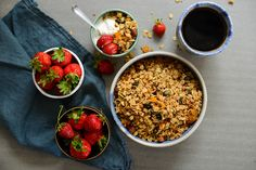 All the summer granola! with mango, apricots and desiccated coconut