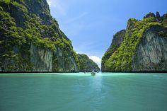 Lua de mel na Tailândia. #casamento #luademel #viagem #noivos #Tailândia #praia #barco