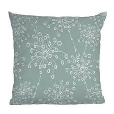 DENY Designs Rachael Taylor Quirky Motifs Throw Pillow | Pure Home