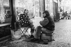 Shoeshine and a Chat