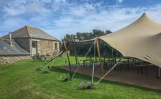 We usually arrive the day before the wedding to keep stress levels to a minimum, both for us and the bride and groom! Depending on the tent and set up it Tent Hire, Canvas Tent, Stuff To Do, Cool Stuff, Tent Wedding, Traditional Wedding, Grooms, Tents, Cornwall